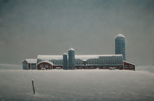 280 Vermont Barn with Snow